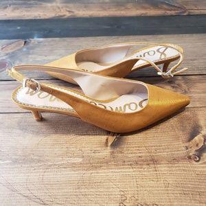 Sam Edelman Ludlow Slingback Kitten Heel Size 7M